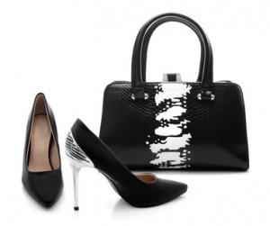 Women shoes and handbag