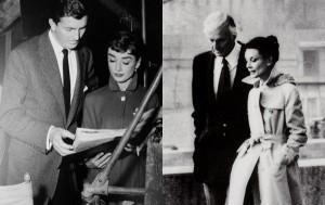 Audrey e Hubert eleganza e stile a braccetto